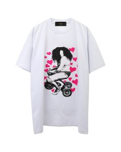 PLEASURE DREAMIN'WILD T-SHIRT / WHITE