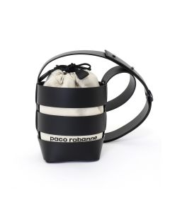 Paco Rabanne CAGE HOBO MINI BAG SMALL MODEL / 001 : BLACK