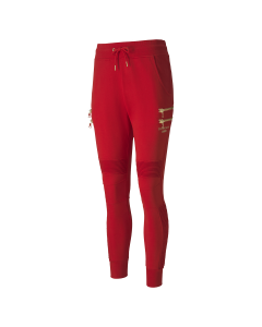 PUMA x BALMAIN TIGHT BIKER SWEATPANT / 11:HIGH RISK RED