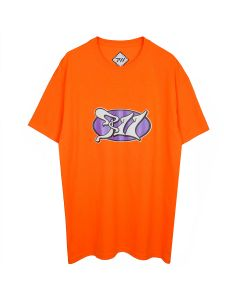 PHIRE WIRE PSYCHIC PW TEE / SAFTY ORANGE