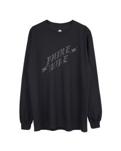 PHIRE WIRE for Cali Thornhill DeWitt LONG SLEEVE TEE / BLACK