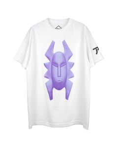 PHIRE WIRE MASK PW TEE / WHITE