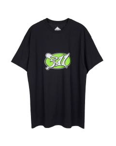 PHIRE WIRE PSYCHIC PW TEE / BLACK-GREEN