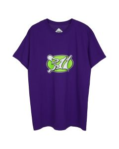 PHIRE WIRE PSYCHIC PW TEE / PURPLE-GREEN