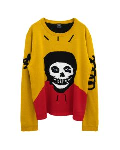 REAL BUY KNIT JUMPER / YELLOW