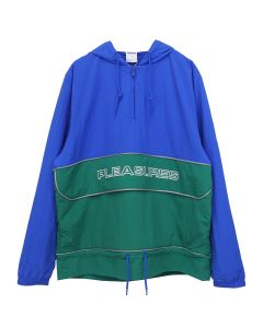 Reebok by PLEASURES CL V UNI PLEASURES ANORAK / VITAL BLUE-PINE GREEN