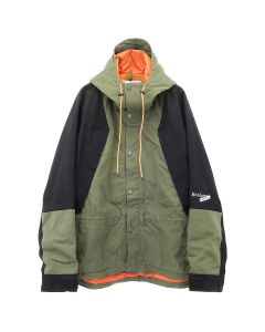 [お問い合わせ商品] READYMADE MOUTAIN PARKA / KHAKI-BLACK