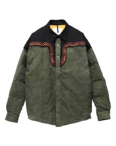 READYMADE WESTERN DOWNJACKET / KHAKI
