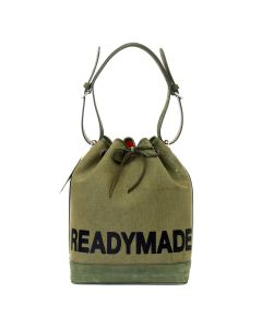 READYMADE DRAWSTRING BAG / KHAKI