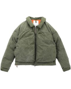 [お問い合わせ商品] READYMADE NECKPILLOW DOWN JACKET / KHAKI