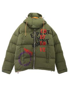 READYMADE x Cali Dewitt DOWN JACKET(CD) / KHAKI