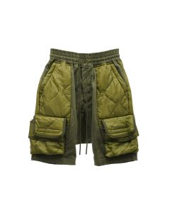 READYMADE CARGO SHORTS / GREEN