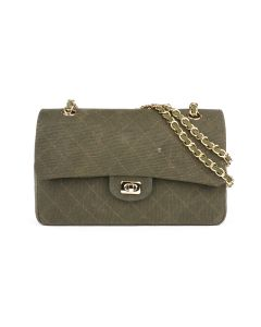 READYMADE CHAIN BAG / GREEN