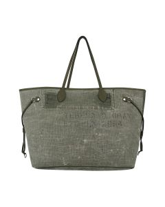 READYMADE ROOMY BAG EMBOSSED / KHAKI