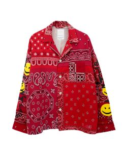 READYMADE SLEEPING SHIRT / RED