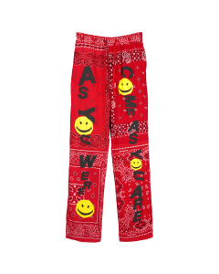READYMADE SLEEPING PANTS / RED
