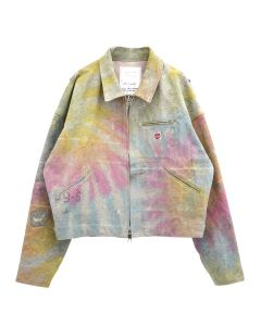 [お問い合わせ商品] READYMADE DECK JACKET / TIE DYE