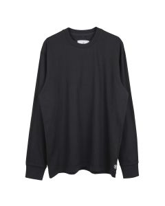 Reigning Champ RELAXED LONG SLEEVE-MIDWEIGHT JERSEY / 097 : BLACK