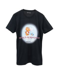 ROBERTA EINER CARING IS MY SUPERPOWER T-SHIRT / BLACK