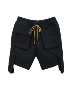RHUDE CARGO SHORT / BLACK