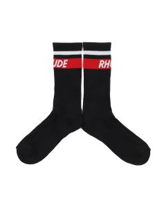RHUDE RHUDE MOD STRIPE / BLACK-RED