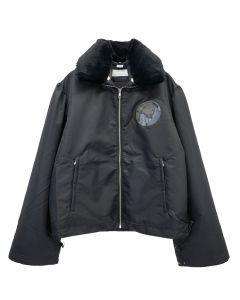 RANDOM IDENTITIES DUVET PUFFER JACKET / BLACK
