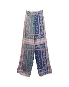 rokh LONG TROUSER / 096 : SCARF MIX