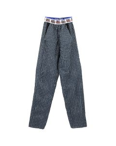 RUE-L CRINKLE PANTS / MIDNIGHT