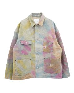 READYMADE BURN COAT / TIE DYE