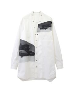 [お問い合わせ商品] Rick Owens RR TOP/SHIRT / 001 : MILK