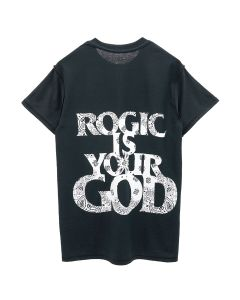 Rogic x STUDIO33 ROGIC IS YOUR GOD TEE / BLACK