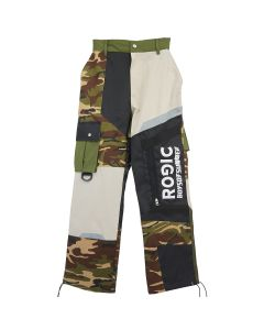 Rogic PANEL DESIGN PANT / KHAKI