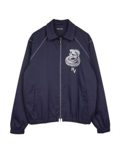 REVOLVER RV COBRA JACKET / NAVY