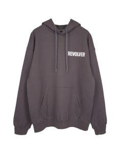 REVOLVER DO NOT TOUCH DO NOT KISS HOODIE by CALI DEWITT / GREY