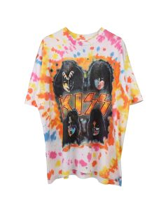 SAINT LUIS KISS REWORKED TIE DYE T / MULTI