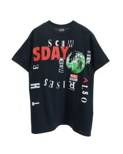 CALI x SAINT MICHAEL T-SHIRT / BLACK