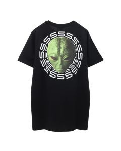SSS World Corp MICHAEL ALIEN SSS TEE / BLACK