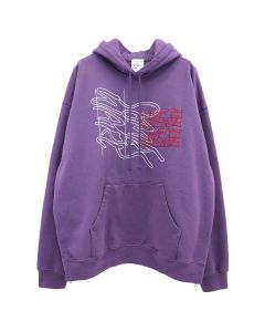 SOME WARE NEW LOGO HOODIE / PURPLE