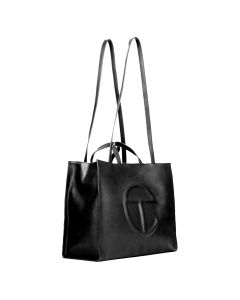 TELFAR LARGE SHOPPER / 002 : BLACK