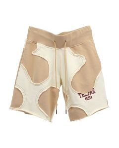 TELFAR CUT-OFF SWEAT SHORTS / 021 : KHAKI