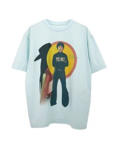 TELFAR COUNTRY MUSIC T-SHIRT 1 / 018 : BABY BLUE