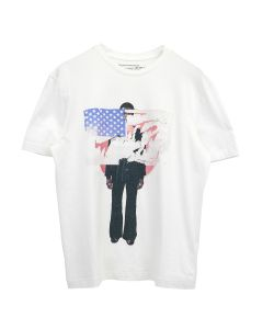 TELFAR COUNTRY MUSIC T-SHIRT 2 / 004 : WHITE