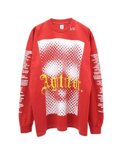 The Incorporated THE AGITATOR L/S T-SHIRT / RED