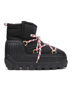 [お問い合わせ商品] THOM BROWNE. 06552/APRES-SKI ANKLE BOOT IN NYLON / 001 : BLACK