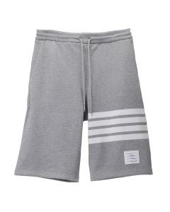 [お問い合わせ商品] THOM BROWNE. CLASSIC SWEAT SHORTS WITH ENGINEERED 4 BAR STRIPES IN CLASSIC LOOP BACK / 068 : LIGHT GREY