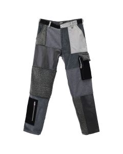 D.TT.K MIXED CARGO TROUSERS / GRAY MULTI