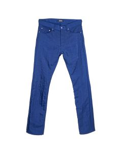 D.TT.K WRINKLE SHINY TROUSERS / NAVY