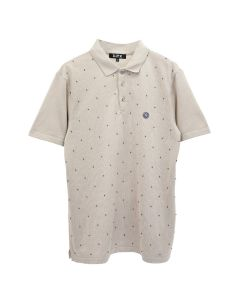 D.TT.K BEADED POLO / BEIGE