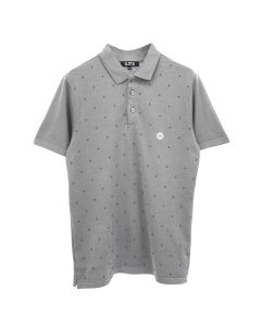 D.TT.K BEADED POLO / GRAY