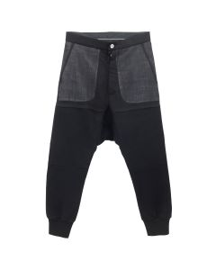 BEN TAVERNITI UNRAVEL PROJECT HYBRID TERRY SWEATPANTS / 1000 : BLACK NO COLOR